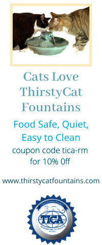 Cats Love ThirstyCats Fountains